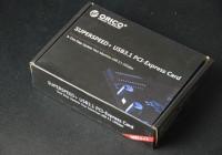让你的存储速度再翻倍—ORICO奥睿科USB3.1扩展卡