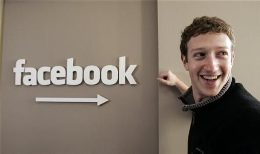 Facebook的CEO马克·扎克伯格