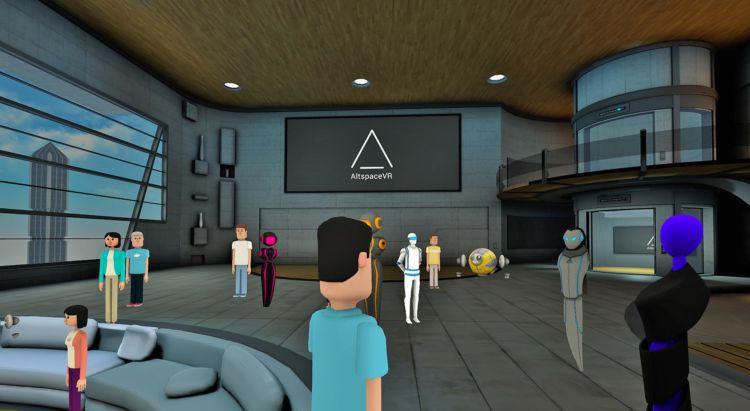 VR社交应用AltspaceVR